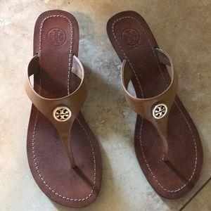 Tory Burch Wedge Sandals 8.5